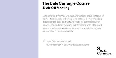 Dale Carnegie Course® - Kick-off (Burlington)