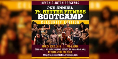 1% Better Fitness Bootcamp Celebrity Edition