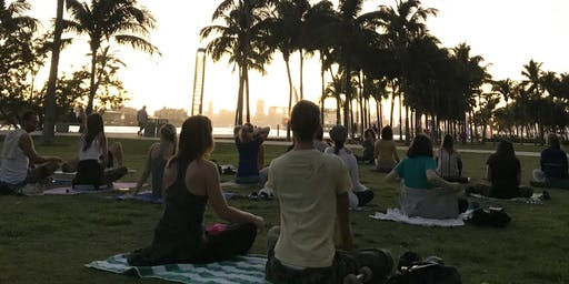 Sunset Meditation (South Pointe Park) FREE