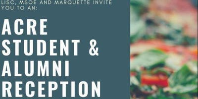 ACRE Student and Alumni Reception