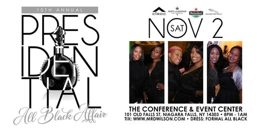 10th Annual Presidential All Black Affair