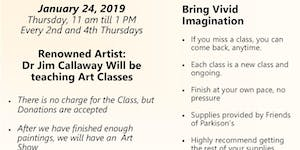 Free Art Classes with Friends of Parkinson's