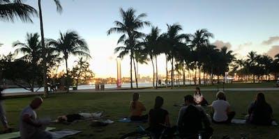 Meditación Guiada en Español (South Pointe Park) GRATIS