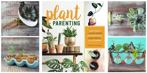 Plant Parenting: Swap and Sip Event