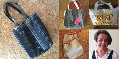 Bag it! Make a tote from anything tickets