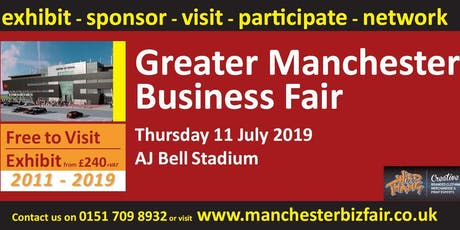Greater Manchester Business Fair 2019 tickets