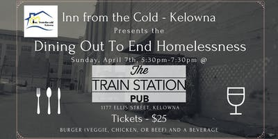 Dining Out To End Homelessness at The Train Station Pub