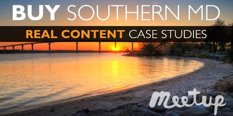 Buy Southern MD: Real Content & Case Studies from Local Experts & Investors (FREE) tickets