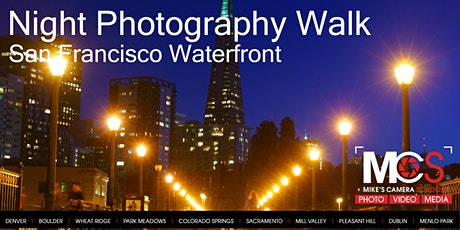 Night Photography - San Francisco Waterfront tickets