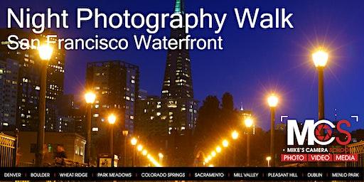 Night Photography - San Francisco Waterfront