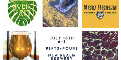Pints and Pours at New Realm Brewery
