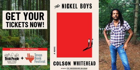Colson Whitehead presents Nickel Boys tickets