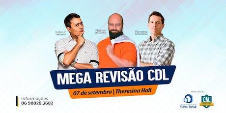 Mega Revisão São José ingressos
