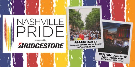 Nashville Pride Festival presented by Bridgestone tickets