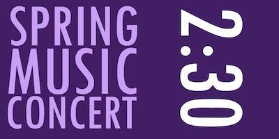 LAMusArt Spring Concert 2019 2:30PM