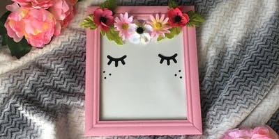 Fairy Princess Frame ( Mom and Daughter workshop )
