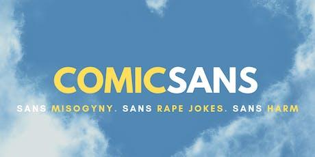 Comic Sans Waterloo tickets