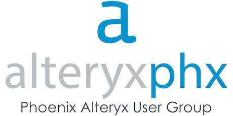 September 2019 Phoenix Alteryx User Group Meeting (AlteryxPHX) tickets