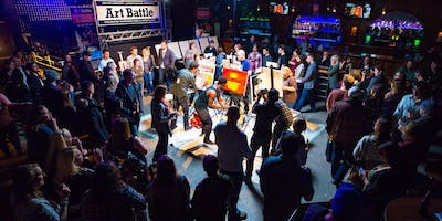 Art Battle Kamloops - April 11, 2019