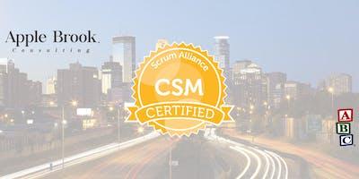 Certified ScrumMaster® (CSM) - Minneapolis, MN - October 3-4