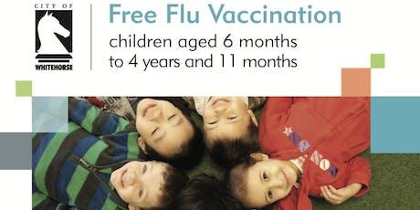 Whitehorse Child Flu Vaccination Program 18 July 2019 tickets