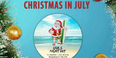 """""""Christmas in July"""" Girls Night Out Networking Social @ Brutopia 7.17.19"""