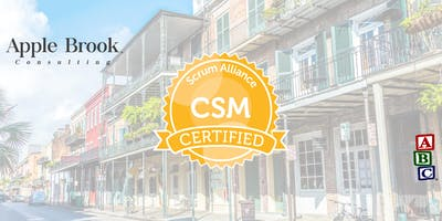 Certified ScrumMaster® (CSM) - New Orleans, LA - October 10-11