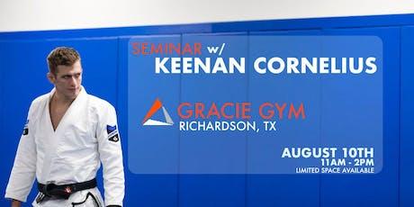Keenan Cornelius Seminar | Richardson, TX tickets