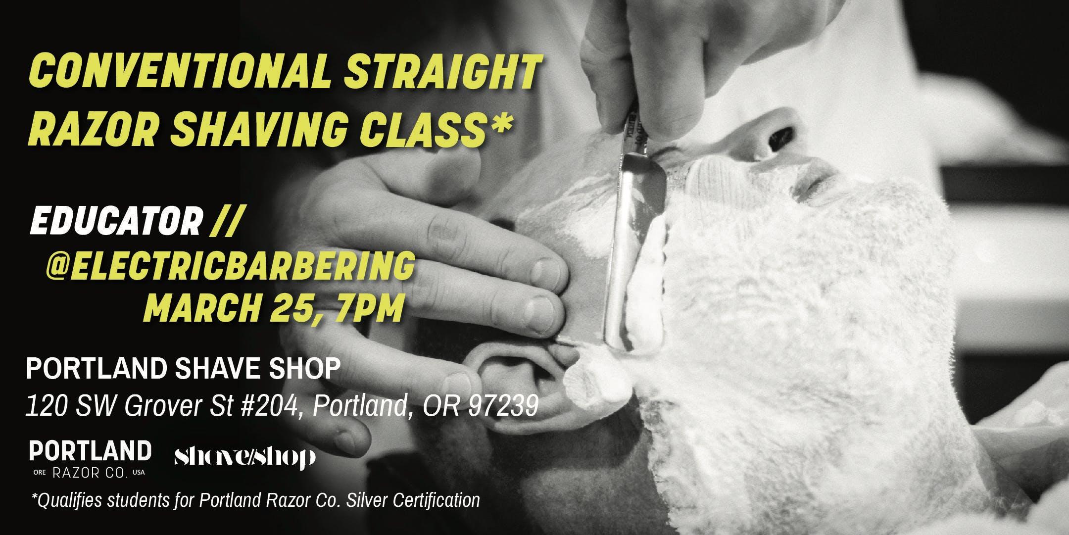 Portland Razor Co. Conventional Straight Razo