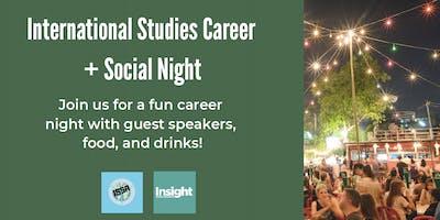 International Studies Career & Social Night