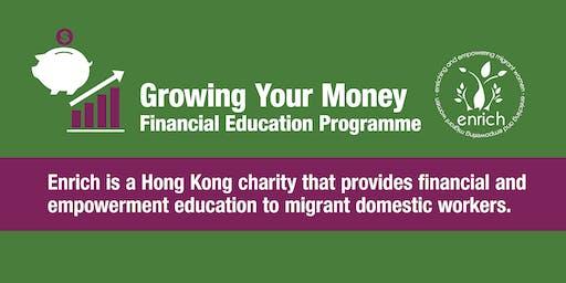 Growing My Money 1-2 Run in Tagalog/English Enrich