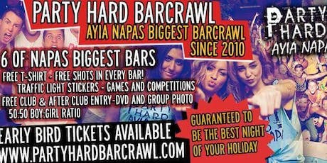 Party Hard Bar Crawl  tickets