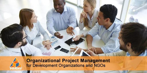 Online Course: Organizational Project Management for Development (September 09, 2019)