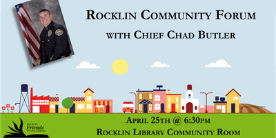 Rocklin Community Forum with Police Chief Chad Butler