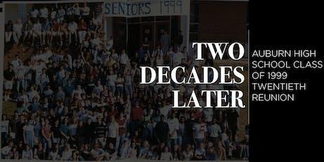 Auburn High School - Class of 1999 Reunion tickets