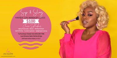 Sip & Slay Makeup Master Class