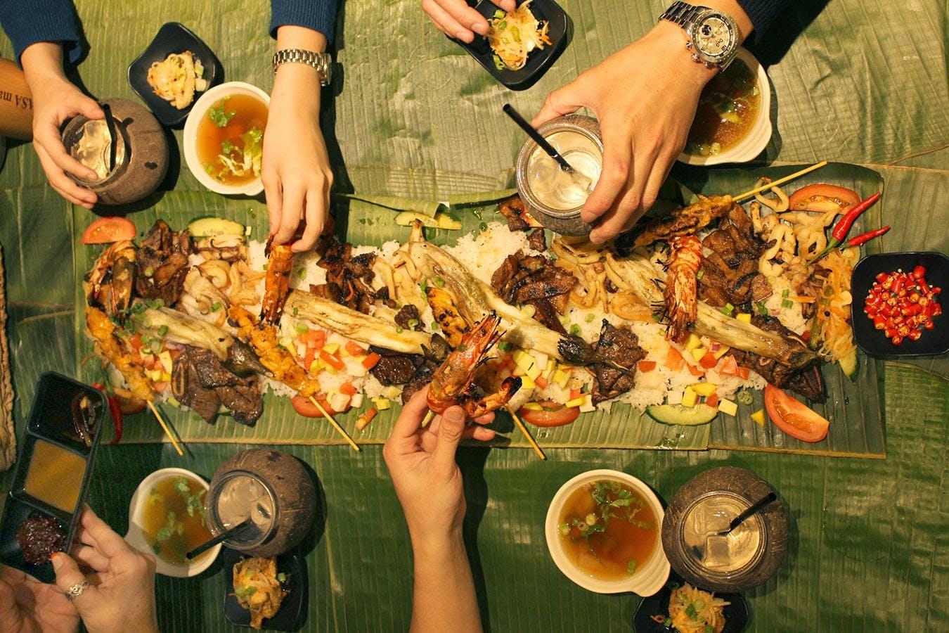 UTS FiloSoc Welcome Event  - Kamayan: Filipin