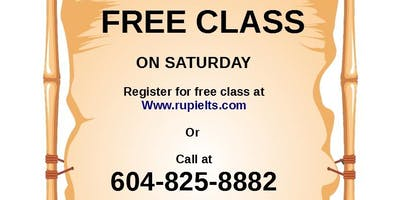 Free IELTS Class