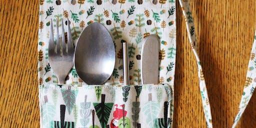 Sustainable Art Workshop Series 2019 - Cutlery Keepers with Jasmine Ofaolain & Rosie Torr
