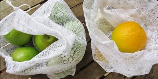 Sustainable Art Workshop Series 2019 - MYO Produce Bags with Lisa Moore