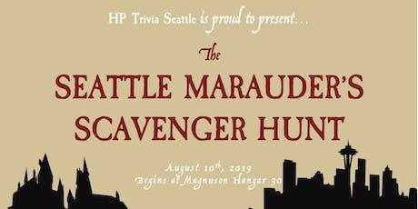 Seattle Marauder's Scavenger Hunt tickets