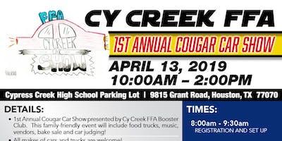 Cy Creek FFA Cougar Car Show