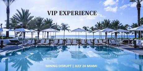 Mining Disrupt 2019 | VIP Experience | Miami | Bitcoin Blockchain tickets