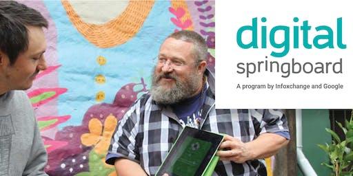 Digital Springboard - Build a CV & Cover Letter