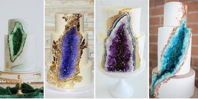 Geode Cake Decorating Class