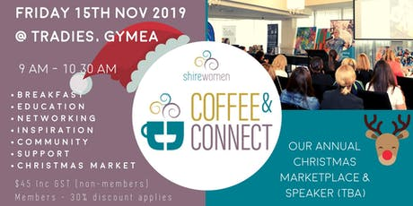 ShireWomen - Coffee & Connect 18th Oct 2019 Tickets, Fri 18/10/2019