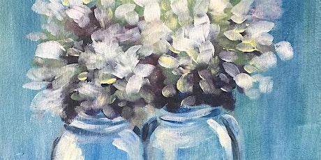 Sip & Paint Workshop' Heavenly Hydrangeas'  tickets