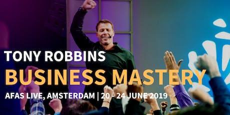 Tony Robbins Business Mastery 2019 tickets
