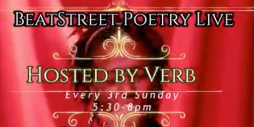 Beat Street Poetry hosted by Verb Kulture