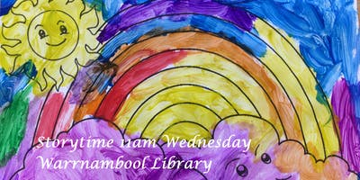 Story Time at Warrnambool Library - Wednesdays 11a